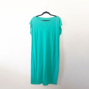 Eileen Fisher Hemp Organic Cotton Maxi Midi Dress